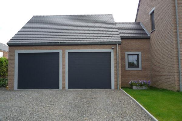 Double porte de garage: Olnix Liège